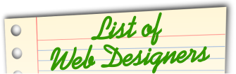 List of Web Designers